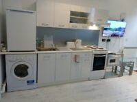 Holiday studio on Thames SW11, Free wifi, full kitchen, tv, washing machine, microwave, sleeps 4