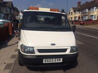 FORD TRANSIT VEHICLE RECOVERY TRUCK QUICK SALE 2.4 DIESEL EXCELLENT WORKING CONDITION POWERFUL WINCH