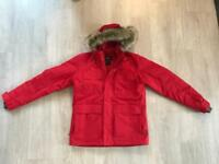 Jack Wolfskin Men's Red Winter Jacket
