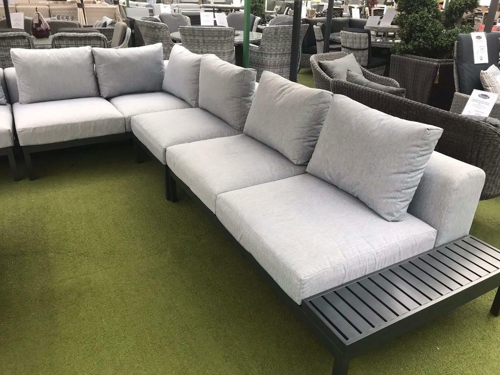 Excellent Aluminium Garden Sofa Set In Harlow Essex Gumtree Theyellowbook Wood Chair Design Ideas Theyellowbookinfo