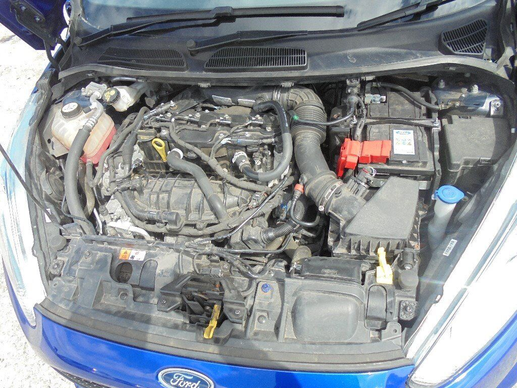 Ford Fiesta 2013 17 St 180 Jtja Engine Parts 1 6 Eco Boost In