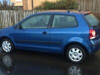 VOLKSWAGEN POLO 1.2 ,CHEAP INSURANCE FANTASTIC ECONOMY,2006, FACELIFT MODEL ,98,000 F S H , AWESOME