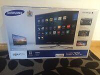 "Samsung 32"" LED smart TV **Brand new**"