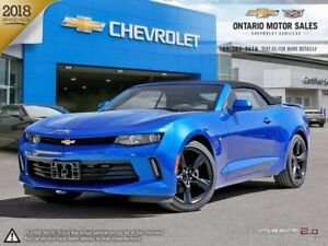 2018 Chevrolet Camaro 1LT CONVERTIBLE / TECHNOLOGY PACKAGE /...
