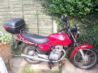 125cc Honda 2006 Leicestershire
