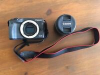 Canon eos m3 with ef-m 18-55 is stm kit lens boxed mint condition
