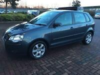 2008(57) Volkswagen POLO MATCH (60) 1.2 petrol 5door (full service history ) 1 year mot not fabia