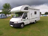 Bessacarr E445 four berth motorhome with end bathroom for sale