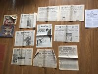 Old Newspapers / Special Edition / Wartime / WW2 / Historic / Souvenir / memorabilia FOR SALE
