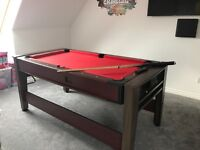 Simpson Petroni 6 ft Pool and air hockey table