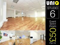 Event Party Hall Venue for Hire Rental Birthday Wedding Reception Corporate East London Canary Wharf
