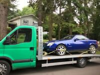 Car recovery collection/delivery services