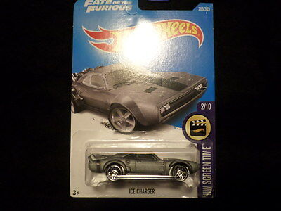 HW HOT WHEELS 2017 HW SCREEN TIME 2/10 ICE CHARGER HOTWHEELS FATE OF THE FURIOUS