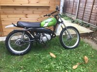 Kd125 Kawasaki