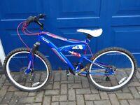 """Mountain bike 24"""" frame, used twice. Like new"""