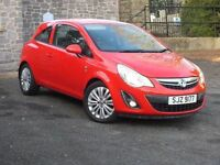 Late 2011 Vauxhall Corsa 1.2 Excite A/C, clio fiesta 207 ,trade in considered,credit cards accepted