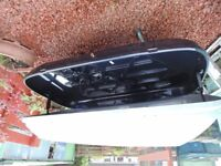 Large roof box for sale.