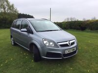 **2007 64K MILES ZAFIRA - 1 YRS MOT - NEW CAMBELT & WATER PUMP**