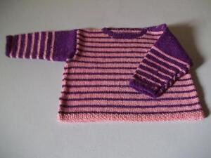 Brand new 3 to 6 months baby sweater... Hand knitted