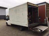 2006 Ford Luton van with tail lift