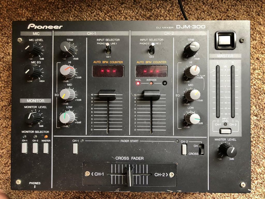 Pioneer DJM 300 2 channel DJ Mixer | in Selly Park, West Midlands | Gumtree