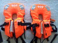 Children's life jackets; Helly Hansen