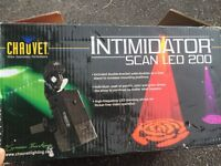 Set of 4 Chauvet intimidator scanners
