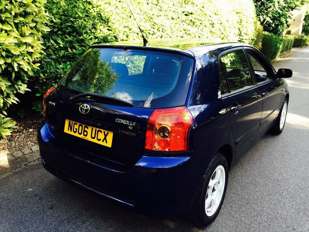 **2006+GEN65K** TOYOTA COROLLA 1.4 5DR + FULLY SERVICED + RECENT CLUTCH INC INVOICE + EXCELLENT COND