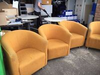office furniture quality tub chairs
