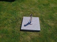 50kg Grey Granite parasol base