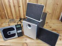 For Parts - TDK CDPlayer Speaker System Subwoofer Read Description