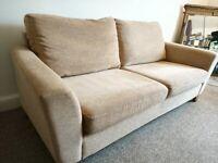 Next large 2 seat sofa Light Beige