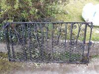 Pair of driveway gates
