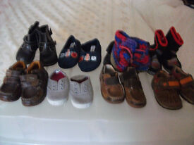 9 pairs of baby boy shoes for 5 pounds