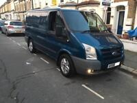 2009, 58 plate Ford transit trend