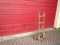 heavy duty sturdy sack truck in original condition