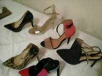 Selection ladies shoe vgc. Size 5 and 6 £20 lot.