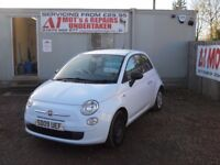 FIAT 500 2009 1.2 LTR PETROL 1 YEAR FRESH MOT SERVICE HISTORY WARRANTIED CLEAN CAR!!!