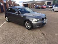 bmw 118d m sport 2011 11 plate 5 door hatchback ex company car service history half leather seats