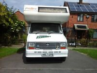 5 Birth Talbot 2.5 Diesel Motor Caravan with Lots of Extras, 11.Months MOT Ready To Go