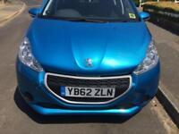 Peugeot 208 access 1.0 manual, petrol, 0 tax band a year,