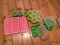 Weaning baby kit- food cube trays Annabel Karmel - Beaba