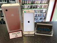 iPhone 7 128GB EE Rose Gold Boxed New Open Box