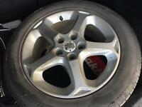 Ford 5 spoke 16 inch alloys