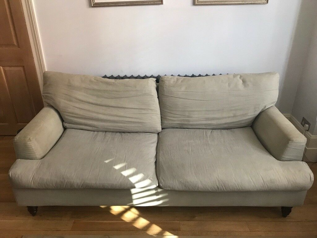 3 Seater Isla Sofa From Com With Light Grey Brushed Cotton Covers In Finsbury Park London Gumtree