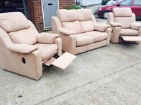 Two Reclining Armchairs - Fantastic Condition - Free Local Delivery!!