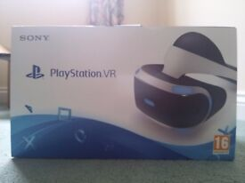 PSVR (PlaystationVR) SEALED**NEW**