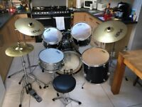 Drum kit by Performance Percussion