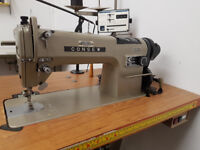 Consew Model 290 RATCW - Industrial Semi Automatic Flat Bed Sewing Machine