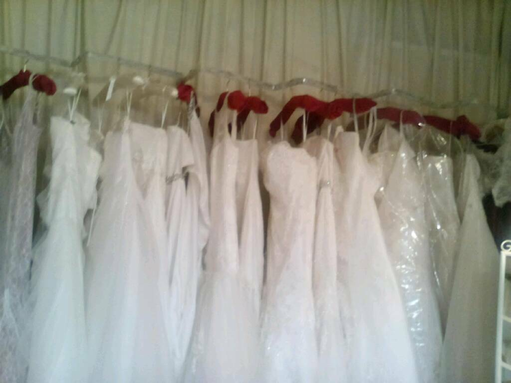Bridal gown stock lot 10